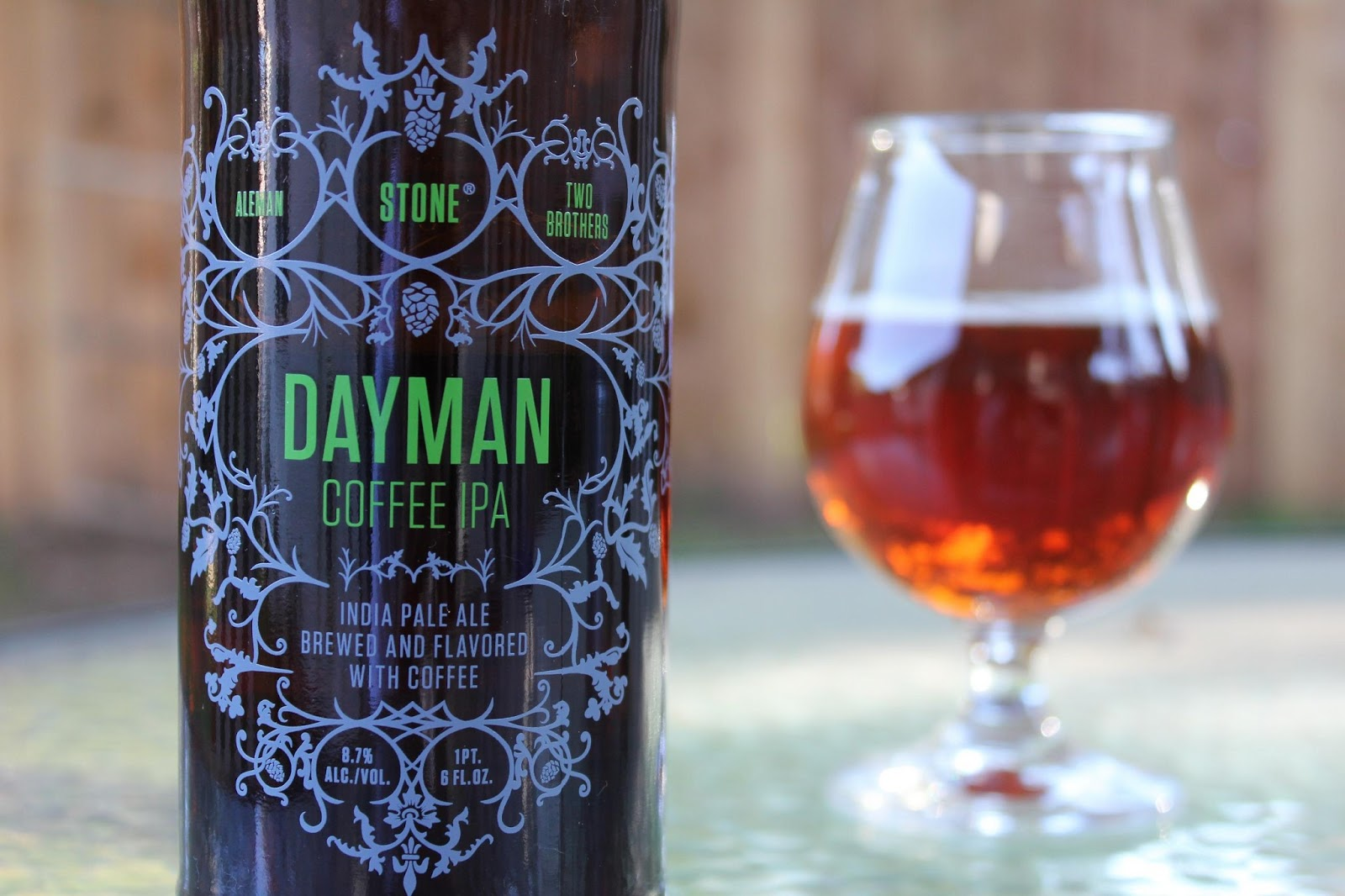 Stone Aleman Two Brothers Dayman Coffee IPA label S